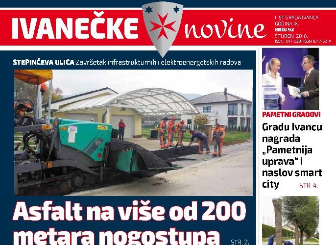 Ivanečke novine, br. 92