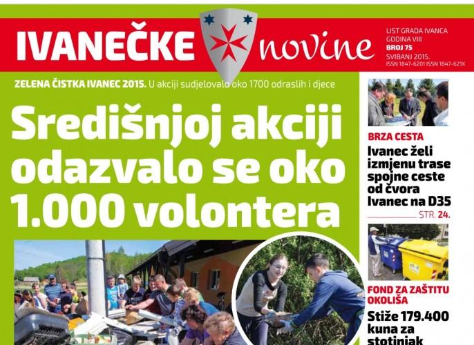 Ivanečke novine Broj 75., svibanj 2015