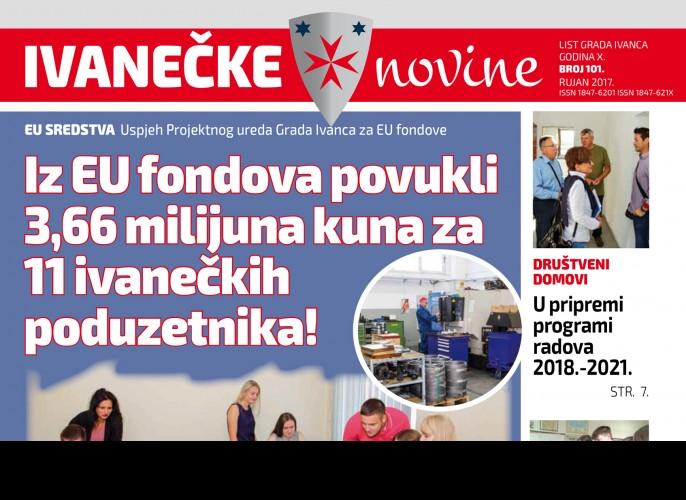 Ivanečke novine, br. 101