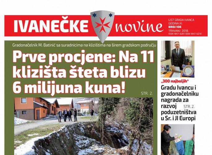 Ivanečke novine, br. 108
