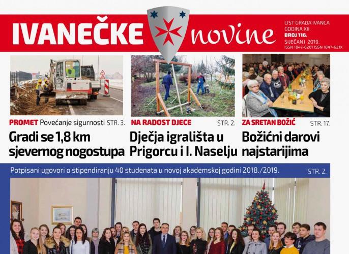 Ivanečke novine br. 116