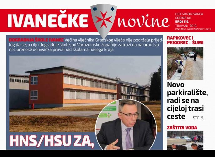Ivanečke novine br. 119
