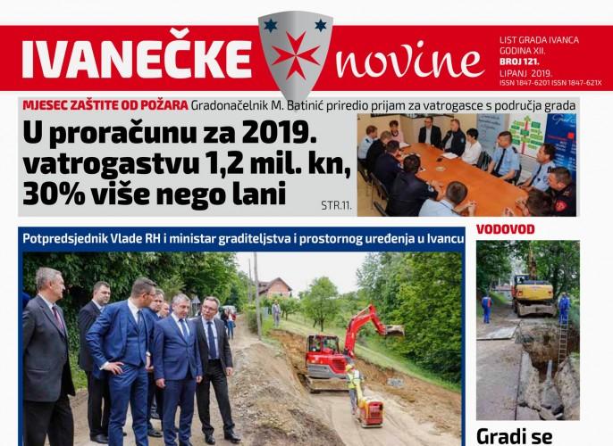 Ivanečke novine br. 121