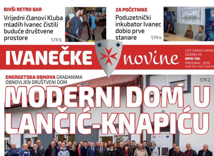 Ivanečke novine br. 126