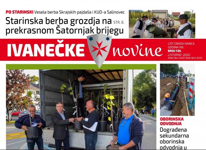 Ivanečke novine br. 135