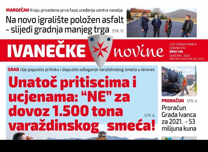 Ivanečke novine br. 138