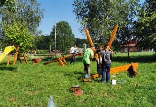 Završeni radovi na opremanju i uređivanju dječjih igrališta iz programa Grada Ivanca za 2020.