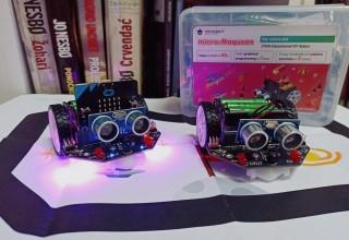 Institut IRIM ivanečkoj Gradskoj knjižnici donirao tri robotička seta