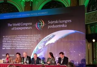 SVJETSKI KONGRES PODUZETNIKA Gradu Ivancu međunarodno priznanje za doprinos razvoju poduzetništva