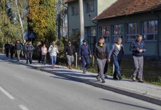 30-ak sudionika na rekreativnom pješačenju u povodu 30. svjetskog dana pješačenja