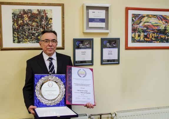 Gradu Ivancu i gradonačelniku M. Batiniću Nagrada za doprinos razvoju poduzetništva u Srednjoj i JI Europi